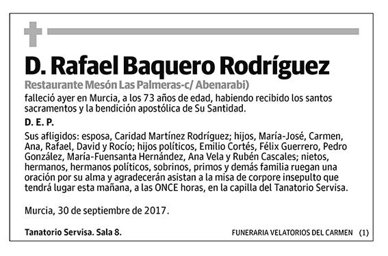 Rafael Baquero Rodríguez