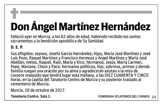 Ángel Martínez Hernández