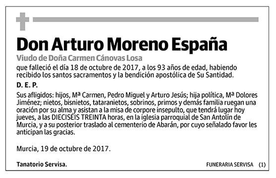 Arturo Moreno España