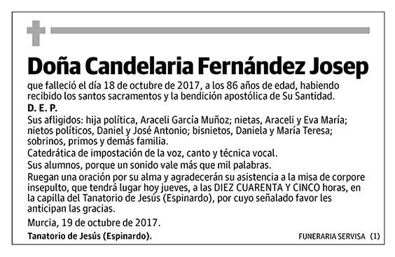 Candelaria Fernández Josep