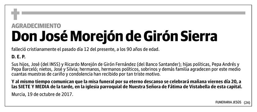 José Morejón de Girón Sierra