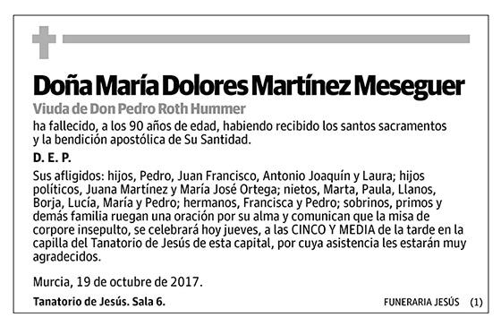 María Dolores Martínez Meseguer