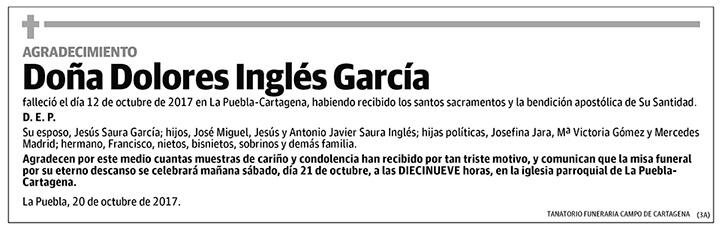 Dolores Inglés García