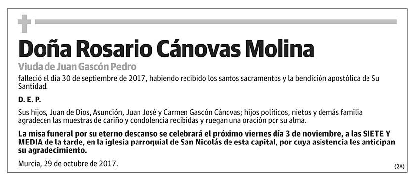 Rosario Cánovas Molina