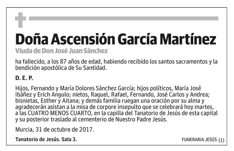 Ascensión García Martínez