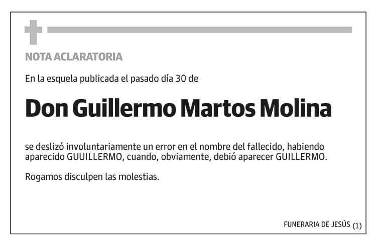 Guillermo Martos Molina