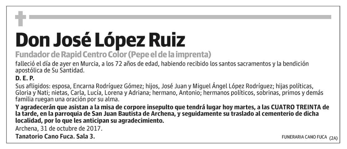 José López Ruiz