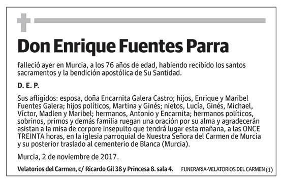 Enrique Fuentes Parra