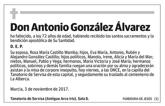 Antonio González Álvarez