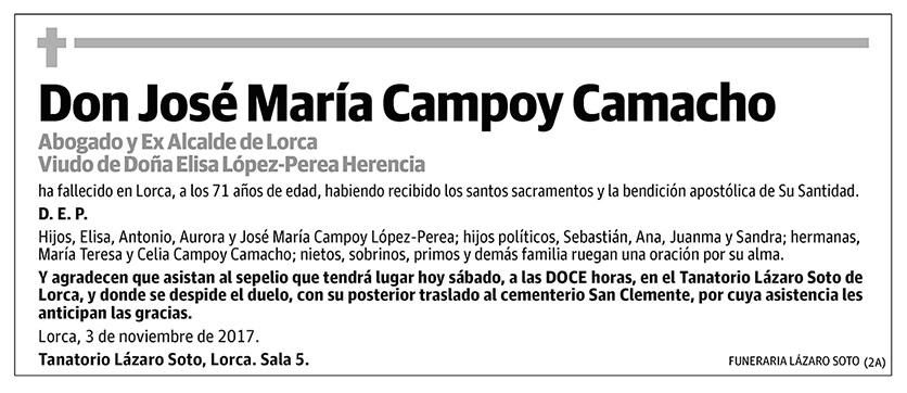 José María Campoy Camacho