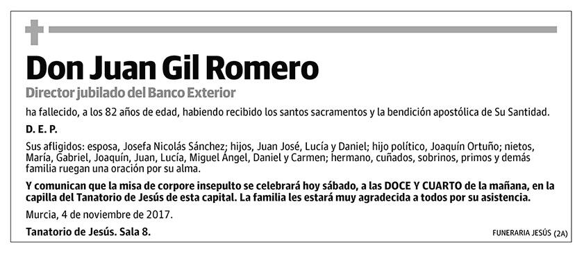 Juan Gil Romero
