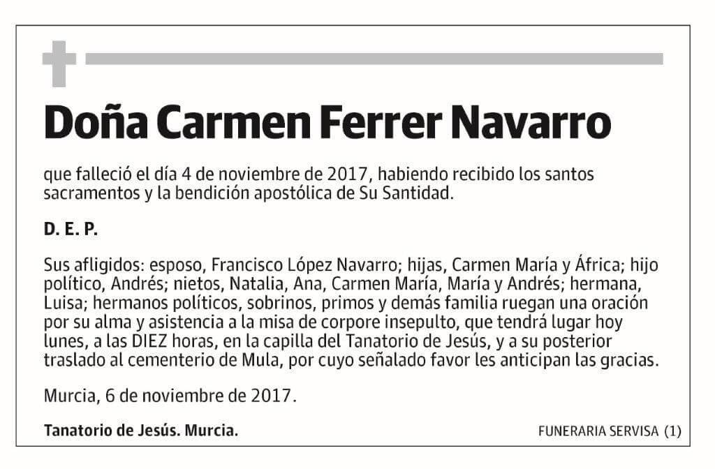 Carmen Ferrer Navarro