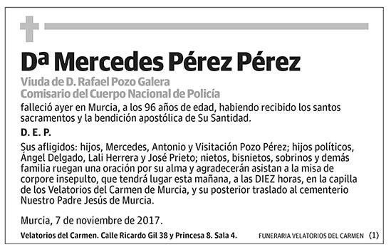 Mercedes Pérez Pérez