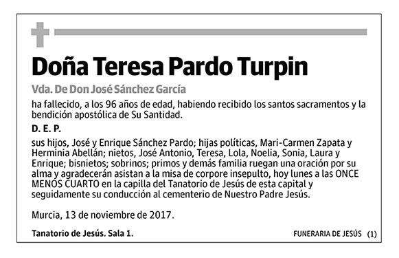 Teresa Pardo Turpin