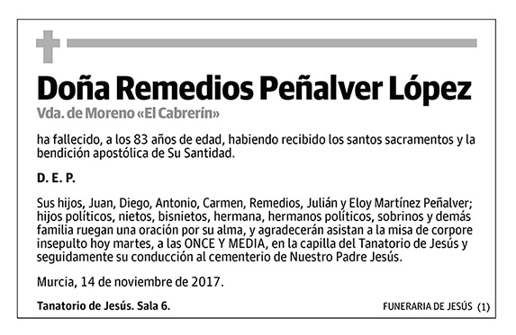 Remedios Peñalver López