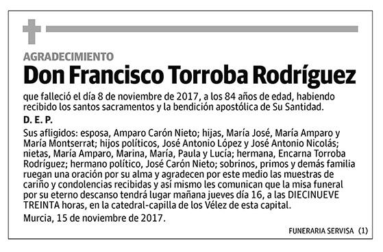 Francisco Torroba Rodríguez