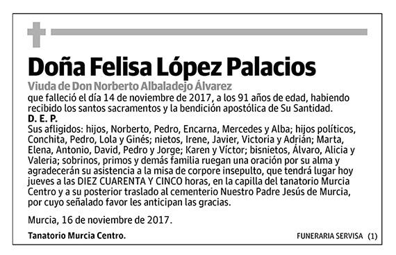 Felisa López Palacios
