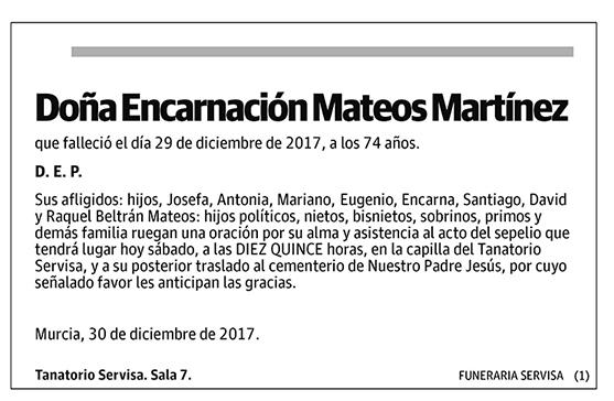 Encarnación Mateos Martínez