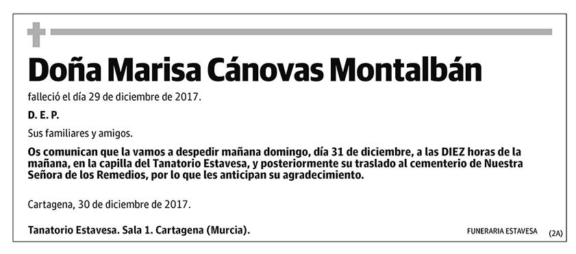 Marisa Cánovas Montalbán