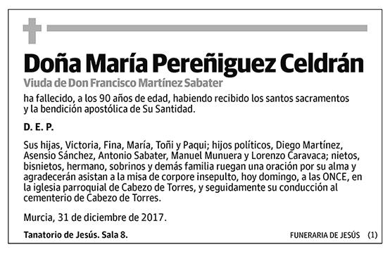 María Pereñiguez Celdrán