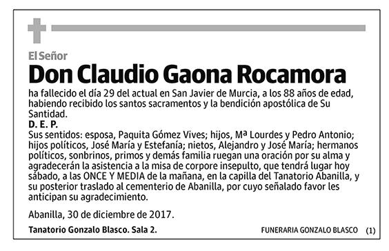 Claudio Gaona Rocamora