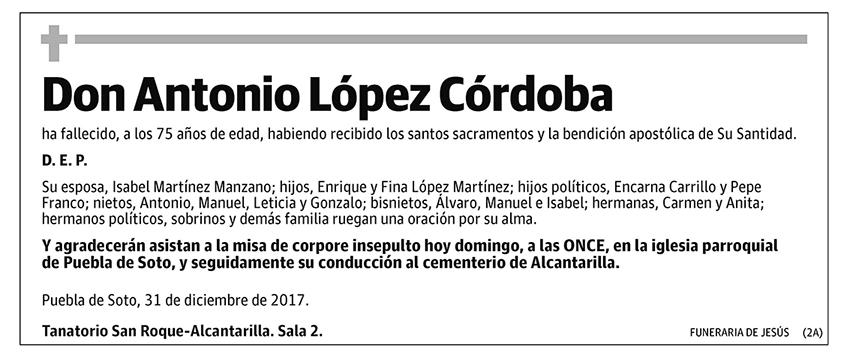 Antonio López Córdoba