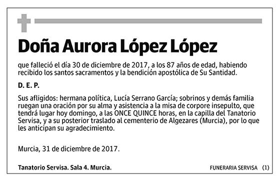 Aurora López López