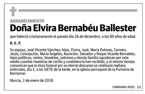 Elvira Bernabéu Ballester