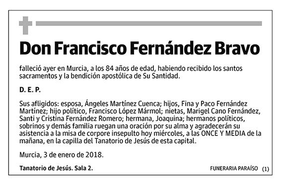 Francisco Fernández Bravo