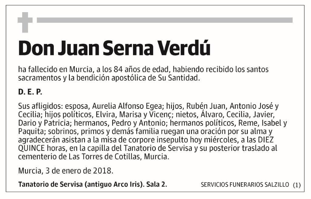 Juan Serna Verdú