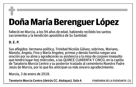 María Berenguer López
