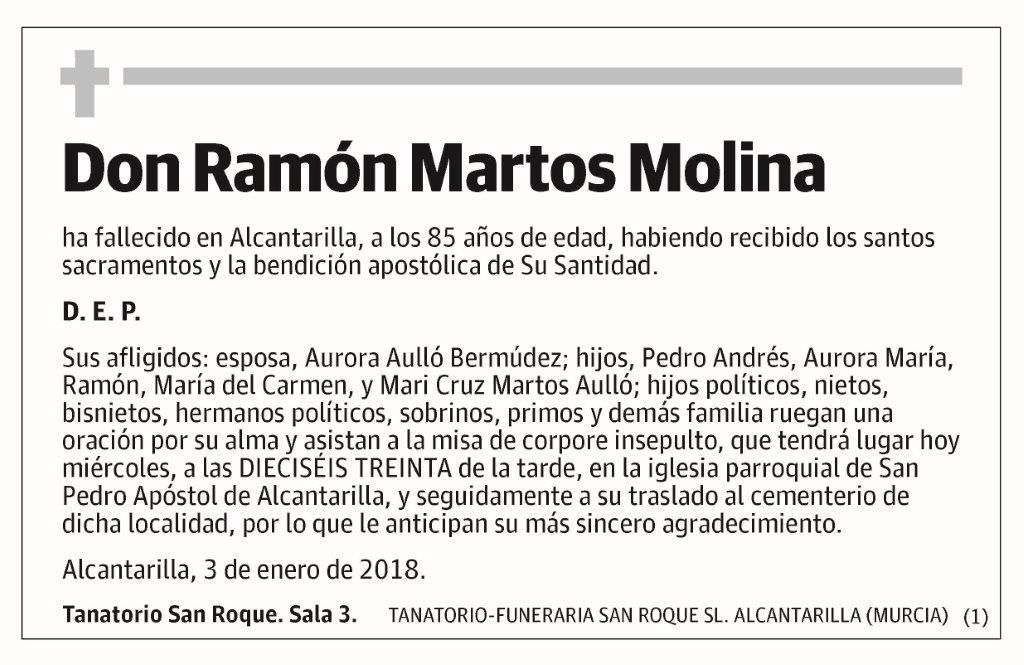 Ramón Martos Molina