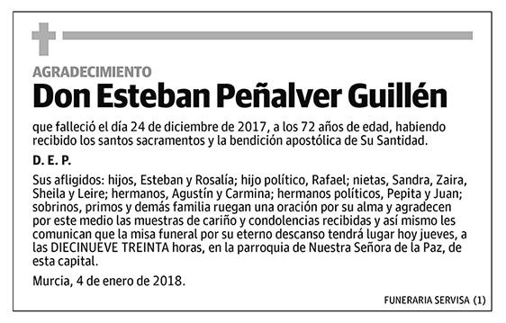 Esteban Peñalver Guillén