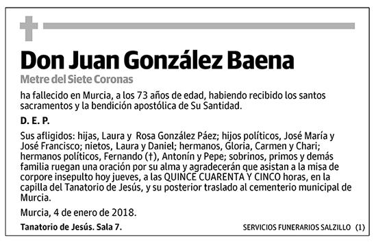 Juan González Baena