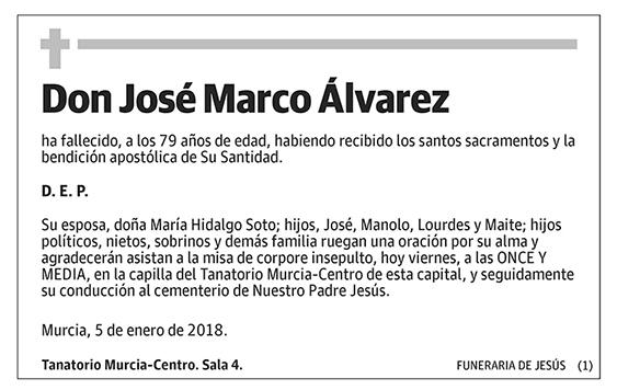 José Marco Álvarez