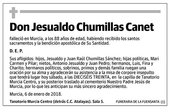 Jesualdo Chumillas Canet