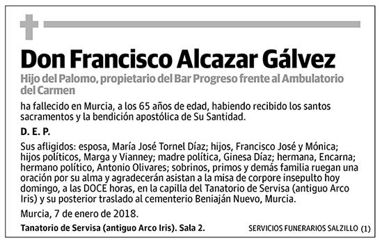Francisco Alcazar Gálvez