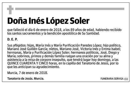 Inés López Soler
