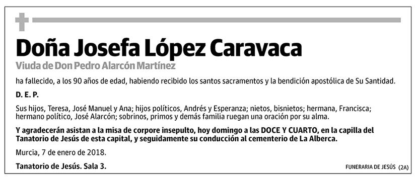 Josefa López Caravaca