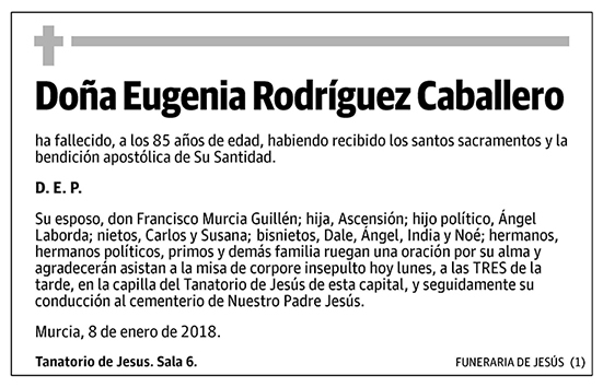 Eugenia Rodríguez Caballero