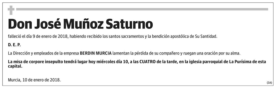 José Muñoz Saturno