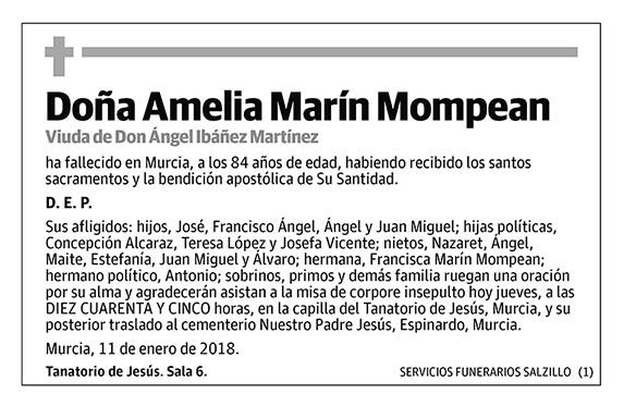 Amelia Marín Mompean