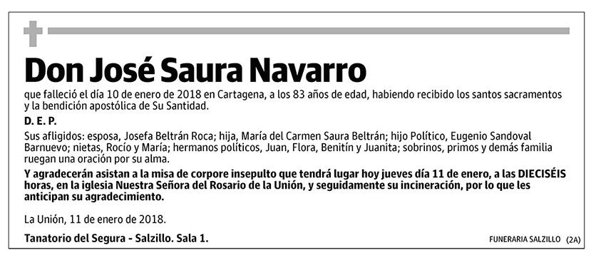 José Saura Navarro