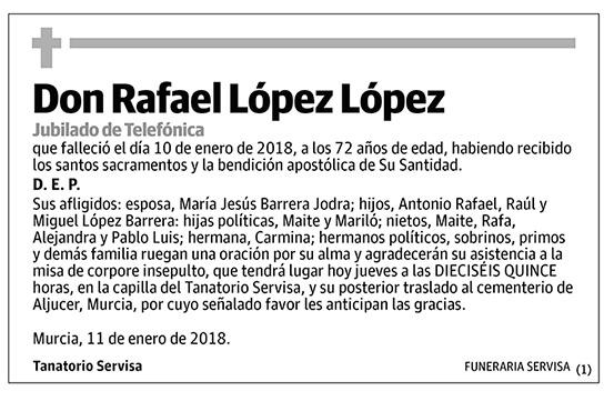 Rafael López López