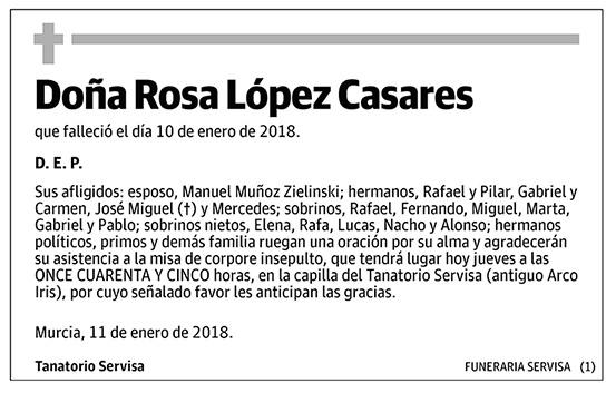 Rosa López Casares