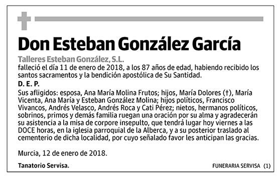 Esteban González García