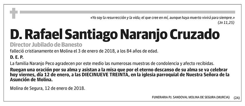 Rafael Santiago Naranjo Cruzado