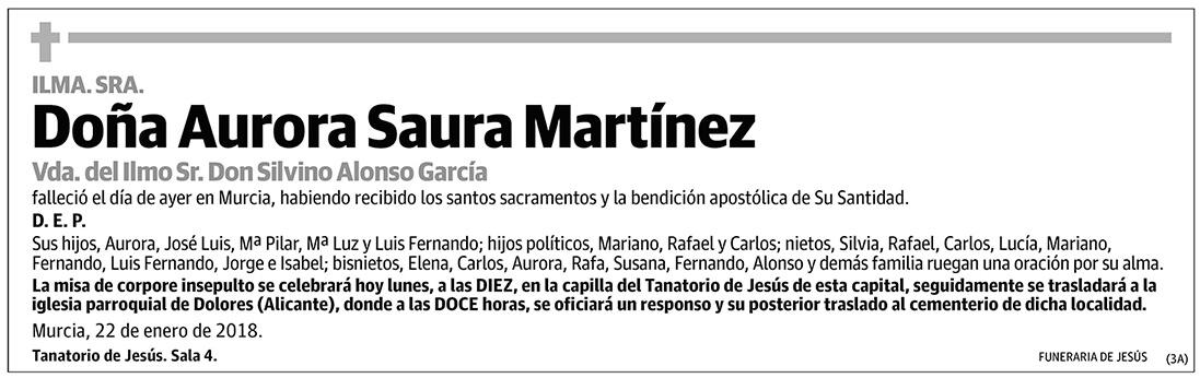 Aurora Saura Martínez