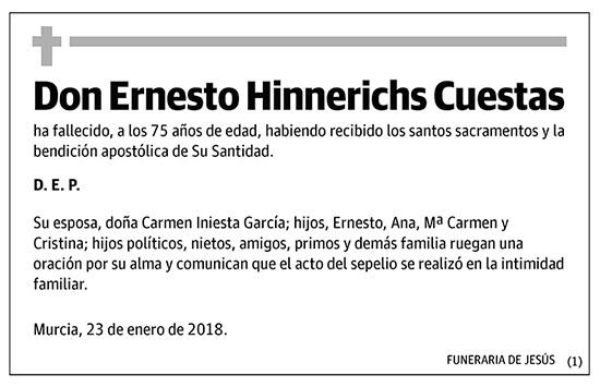 Ernesto Hinnerichs Cuestas