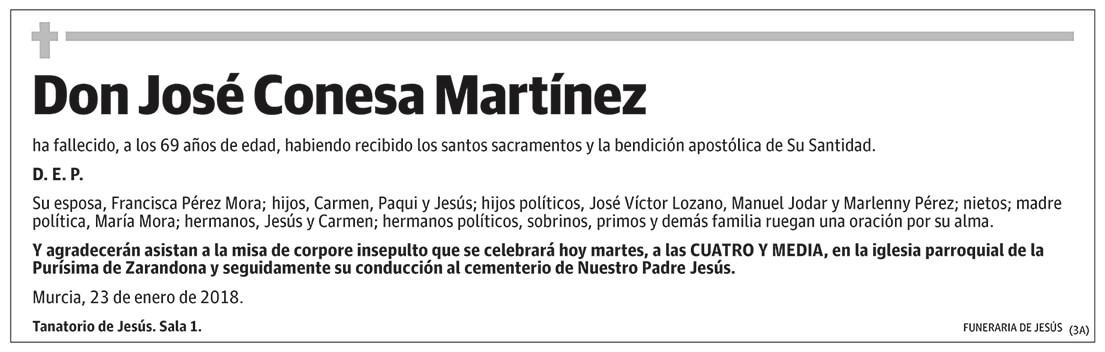 José Conesa Martínez